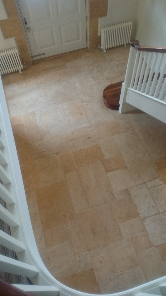 Sandstone Floor Cleaning and Sealing