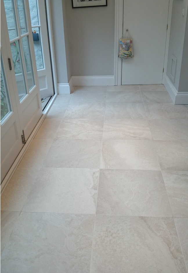 Porcelain Floor Tiles Cleaned